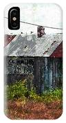 Long Since Abandoned - Back To Nature IPhone Case