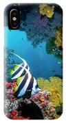 Longfin Bannerfish IPhone X Case