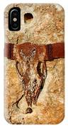Longhorn On The Rock IPhone Case