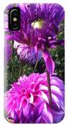 Look At Me Dahlia Flower IPhone Case