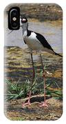 Look Out For That Egret- Mother Stilt Said IPhone Case