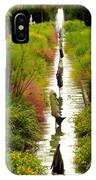 Looking Down Reflection Canal IPhone Case