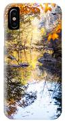 Looking Down The Eno River IPhone Case