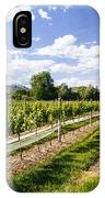 Looking Down The Vines IPhone Case