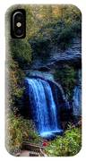 Looking Glass Falls #2 IPhone Case