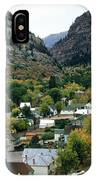 Looking Over Ouray From The Sutton Mine Trail Circa 1955 IPhone Case
