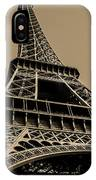 Looking Up At Eiffel IPhone Case