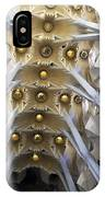Looking Up At The Sagrada Familia In Barcelona IPhone Case