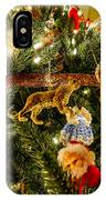 Looking Up The Christmas Tree IPhone Case
