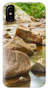 Looking Upstream The Colorado St Vrain River IPhone Case
