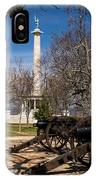 Lookout Mountain Peace Monument 2 IPhone Case