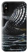 Loon Reflections IPhone X Case