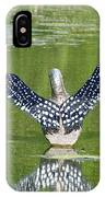 Loon Wings IPhone Case