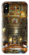 L'oratorio Del Santissimo Crosifisso IPhone Case