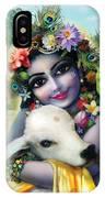 Lord Krishna On The Govardhan IPhone X Case