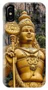 Lord Murugan IPhone Case