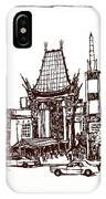 Hollywood's Chinese Theater Landmark.          IPhone Case
