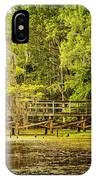 Lost Bridge On Caddo Lake IPhone Case