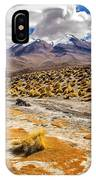 Lost In The Bolivian Desert Framed IPhone Case