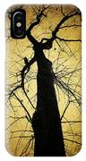 Lost In The Forest I Broke Off A Dark Twig And Lifted Its Whisper To My Thirsty Lips IPhone Case