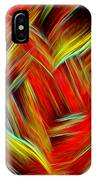 Lost In Thoughts - Abstract Digital Painting By Giada Rossi IPhone Case