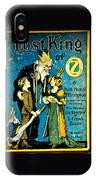 Lost King Of Oz IPhone Case