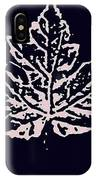 Lost Leaves IPhone Case