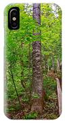 Lots Of Steps On La Chute Trail In Forillon Np-qc IPhone Case