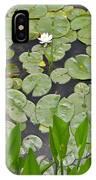 Lotus Pads IPhone Case