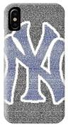 Lou Gehrig Speech Mosaic IPhone Case