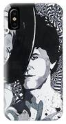 Lou Reed In Pools IPhone Case