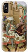 Louis Xii Leaving Alexandria IPhone Case