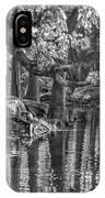 Louisiana Bayou - Bw IPhone Case