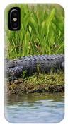 Louisiana Gator IPhone Case