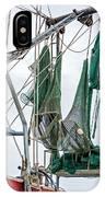 Louisiana Shrimp Boat Nets IPhone Case