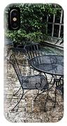 Lounging On The Patio IPhone Case