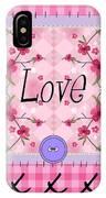 Love Cherry Blossom IPhone Case