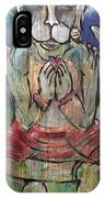 Love For Hanuman IPhone Case