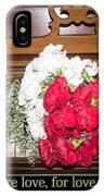 Love In Harmony IPhone Case
