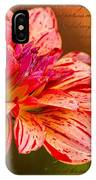 Love Letter To Dahlia IPhone Case