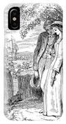 Love Lyrics And Valentine Verses, 1875 IPhone Case