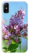 Love My Lilacs IPhone X Case
