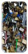 Love Padlocks On Pont Des Art IPhone Case