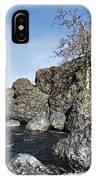 Lovejoy Basalt Formations  IPhone Case