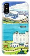 Lovely Lake Louise IPhone Case