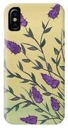 Lovely Lavender IPhone Case