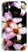 Lovely Lilies IPhone Case