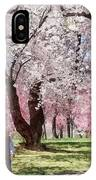 Lovely Spring Day For A Walk IPhone Case