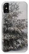 Loves Snow IPhone Case