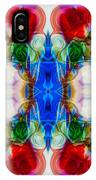 Loving Wisdom Abstract Living Artwork IPhone Case